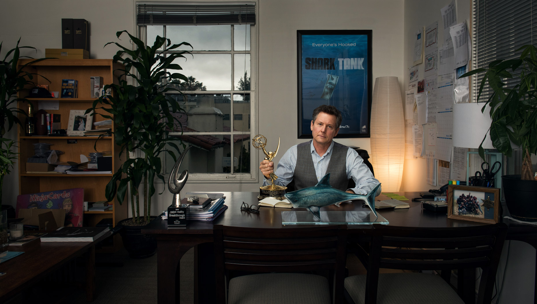 shark-tank-producer-clay-newbill-in-his-office
